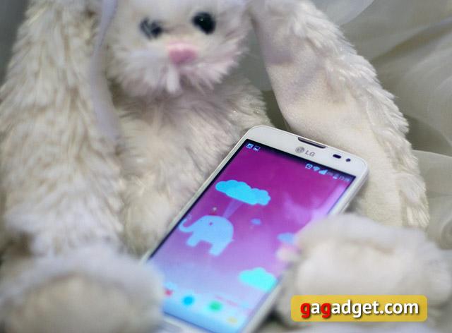 Обзор тапательного смартфона LG L90 D405