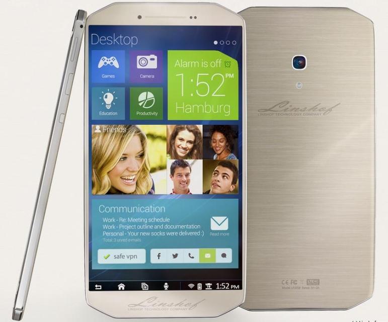 Linshof i8: доступный немецкий смартфон с мощной начинкой или просто чей-то фейк?