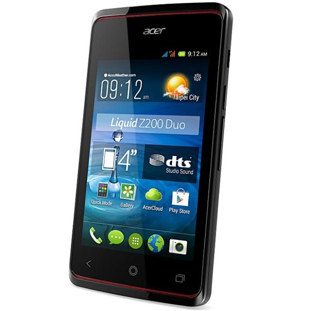 Acer начала продажи бюджетного смартфона Liquid Z200 в Украине