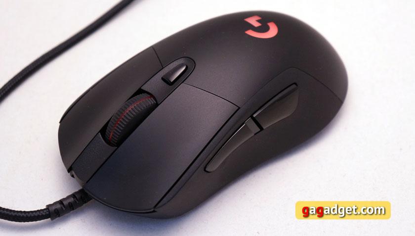Беглый обзор игровой мышки Logitech G403 Prodigy, клавиатуры G213 и гарнитуры G231-2