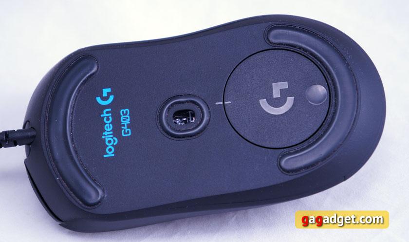 Беглый обзор игровой мышки Logitech G403 Prodigy, клавиатуры G213 и гарнитуры G231-6