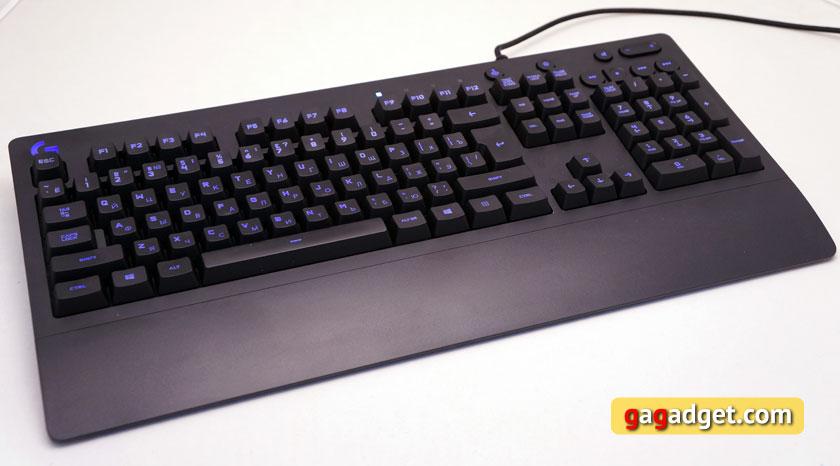 Беглый обзор игровой мышки Logitech G403 Prodigy, клавиатуры G213 и гарнитуры G231-10