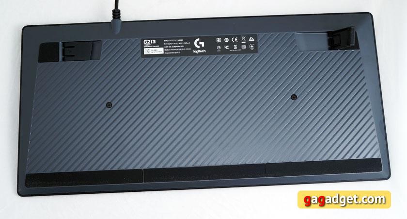 Беглый обзор игровой мышки Logitech G403 Prodigy, клавиатуры G213 и гарнитуры G231-12
