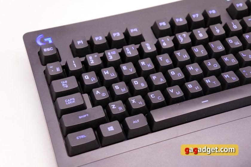Беглый обзор игровой мышки Logitech G403 Prodigy, клавиатуры G213 и гарнитуры G231-14