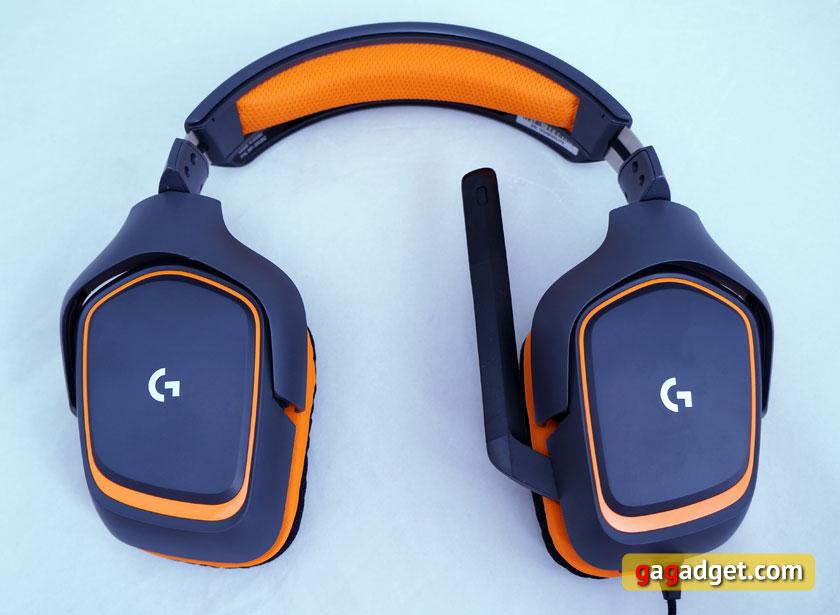 Беглый обзор игровой мышки Logitech G403 Prodigy, клавиатуры G213 и гарнитуры G231-16