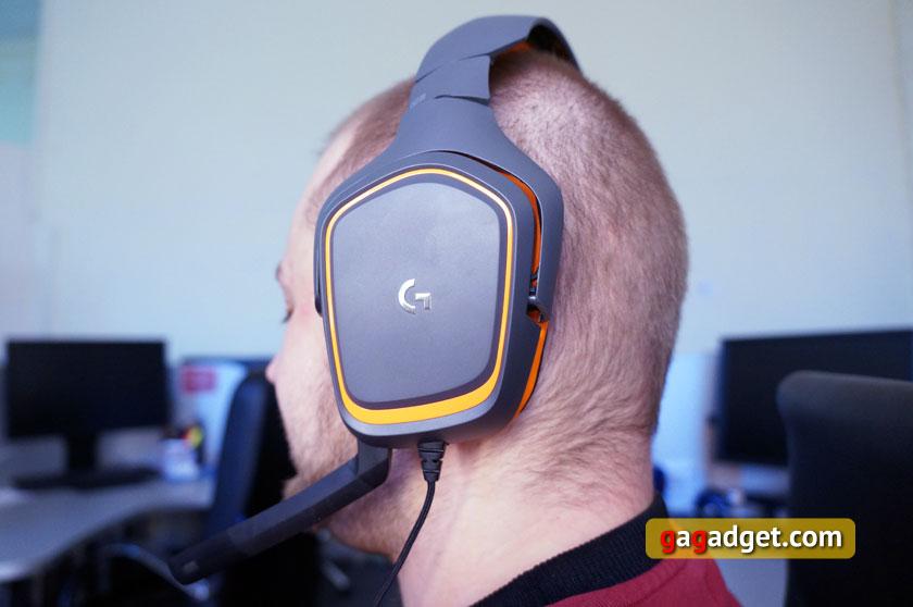 Беглый обзор игровой мышки Logitech G403 Prodigy, клавиатуры G213 и гарнитуры G231-20