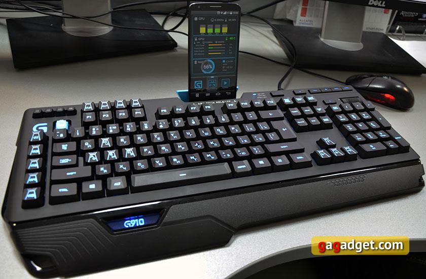Обзор геймерской клавиатуры Logitech G910 Orion Spark
