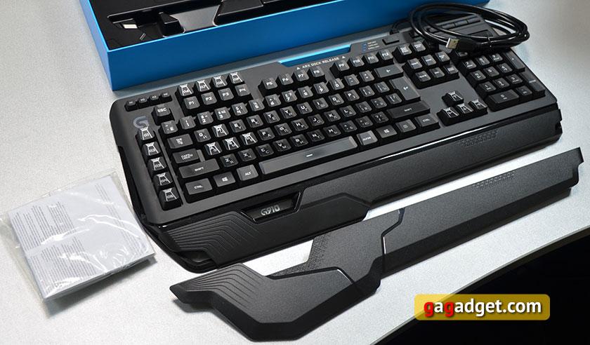 Обзор геймерской клавиатуры Logitech G910 Orion Spark-4