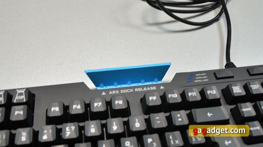 Обзор геймерской клавиатуры Logitech G910 Orion Spark-7