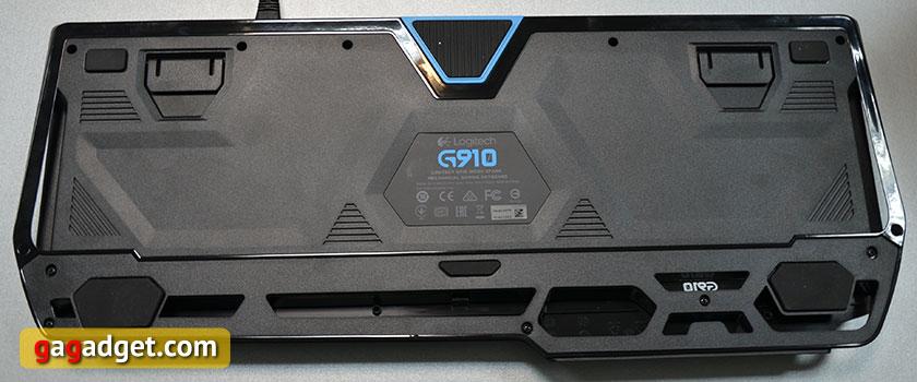 Обзор геймерской клавиатуры Logitech G910 Orion Spark-9