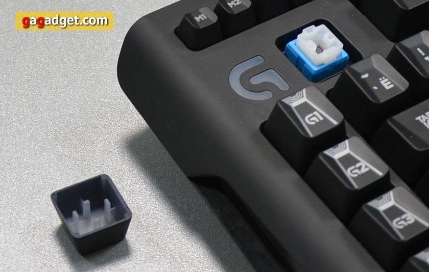 Обзор геймерской клавиатуры Logitech G910 Orion Spark-11