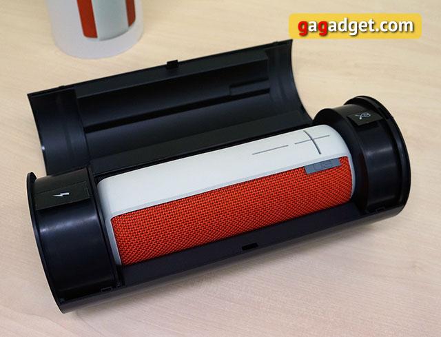 Обзор влагоустойчивой беспроводной акустики Logitech UE Boom-4