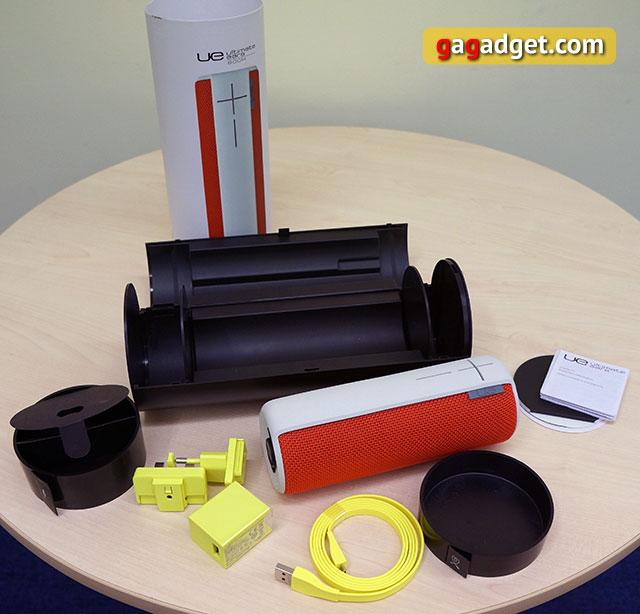 Обзор влагоустойчивой беспроводной акустики Logitech UE Boom-5