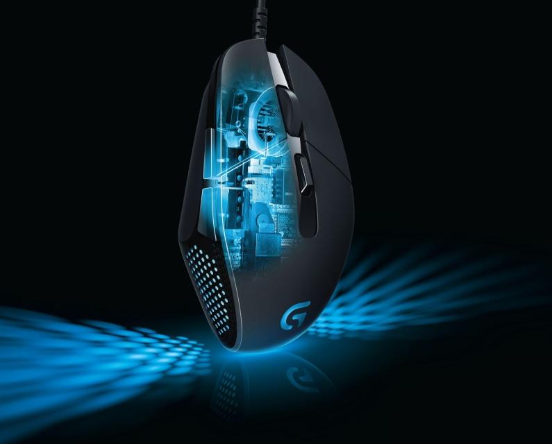 Logitech G302 представила геймерскую мышку Daedalus Prime MOBA