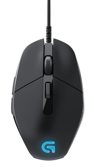 Logitech G302 представила геймерскую мышку Daedalus Prime MOBA-2