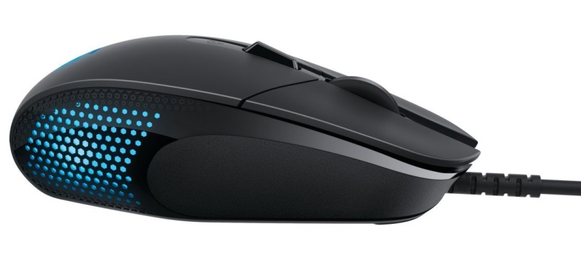 Logitech G302 представила геймерскую мышку Daedalus Prime MOBA-4