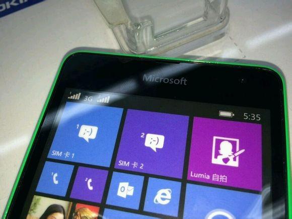Живые фото смартфона Lumia 535 с брендированием Microsoft-2