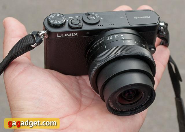 Обзор Panasonic Lumix DMC-GM1: меньше, легче, удобнее-2