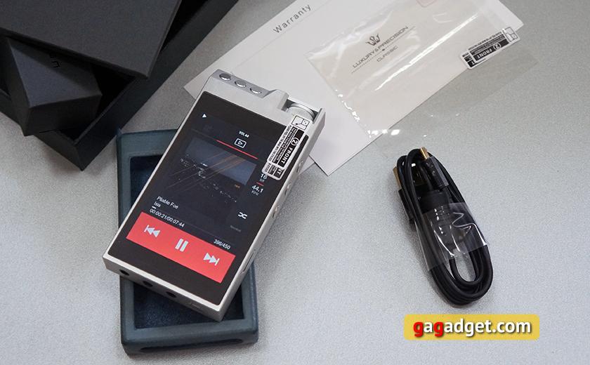 "Обзор ""четкого"" Hi-Fi плеера Luxury & Precision L3-3"