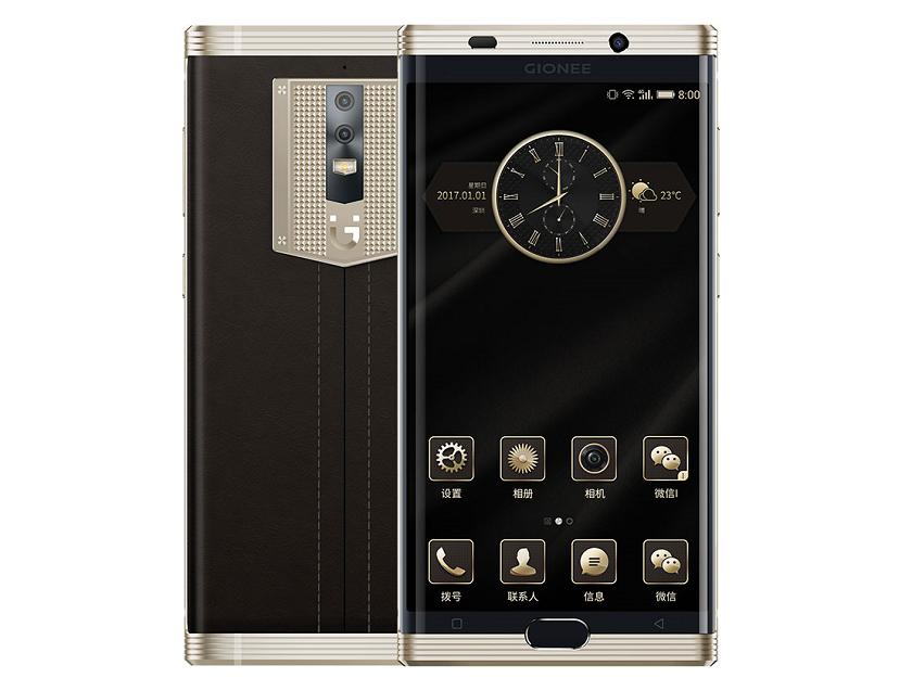Статусный смартфон Gionee M2017 с батареей на 7000 мАч представили официально
