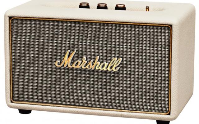 Marshall Acton: компактная Bluetooth-акустика в стиле легендарных гитарных усилителей