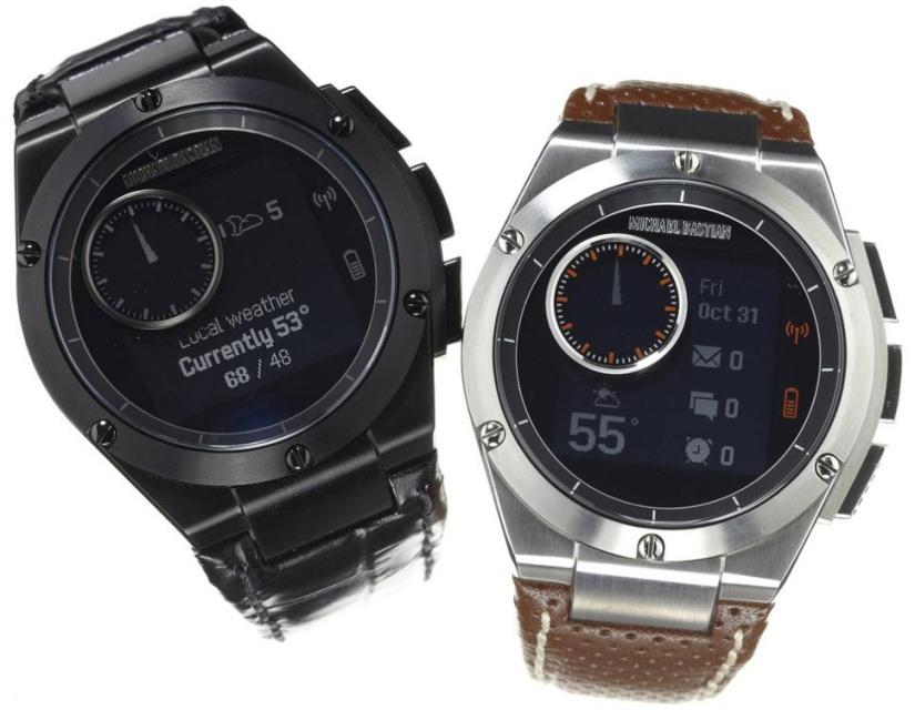 HP и дизайнер Майкл Бастиан выпустили часы MB Chronowing со смарт-функциями