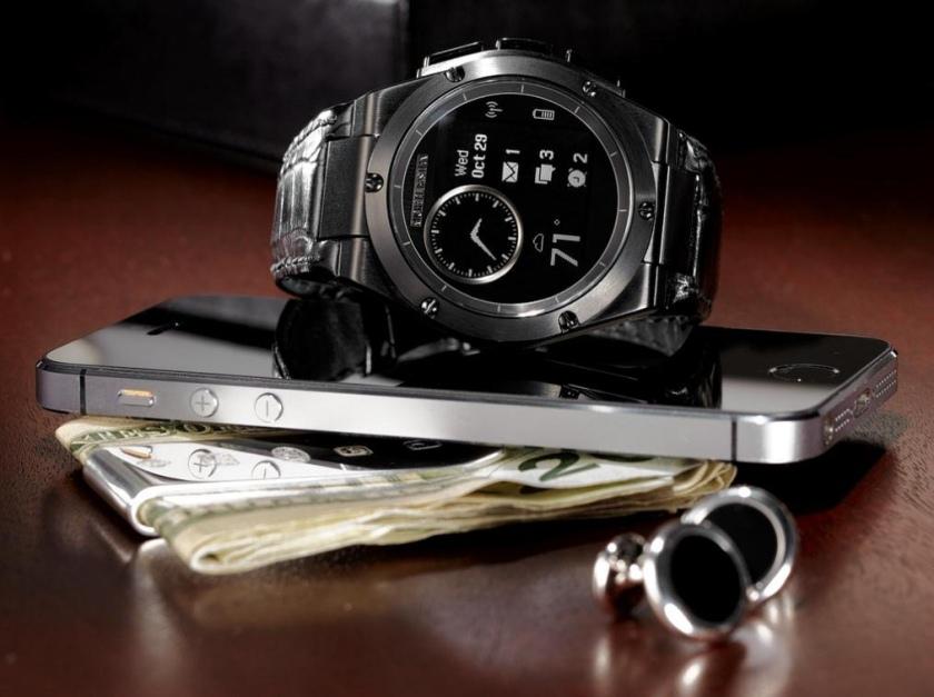 HP и дизайнер Майкл Бастиан выпустили часы MB Chronowing со смарт-функциями-2