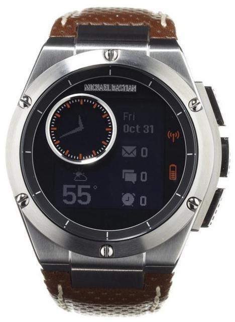 HP и дизайнер Майкл Бастиан выпустили часы MB Chronowing со смарт-функциями-3