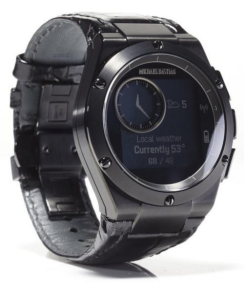 HP и дизайнер Майкл Бастиан выпустили часы MB Chronowing со смарт-функциями-4