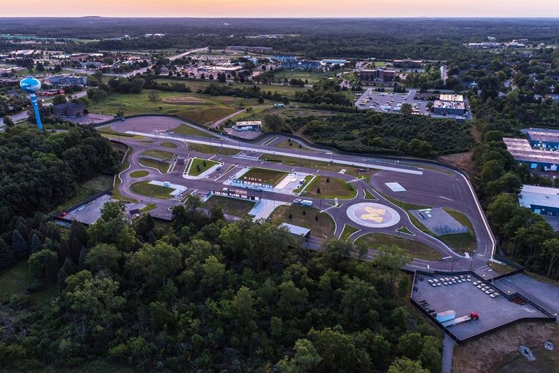 В США создали город Mcity для тестирования беспилотных автомобилей