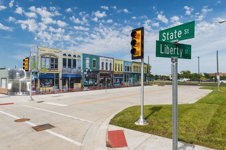 В США создали город Mcity для тестирования беспилотных автомобилей-2