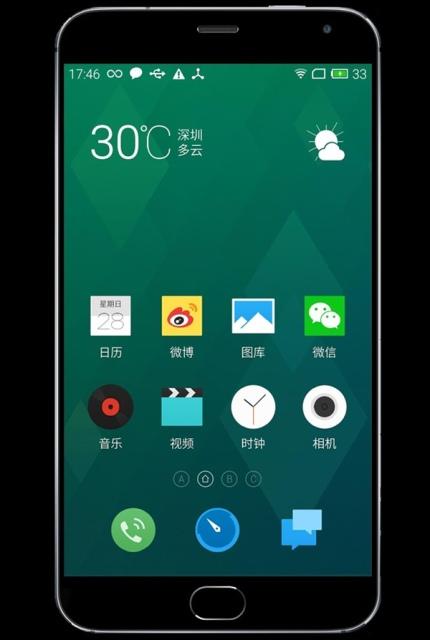 В сеть попали рендеры лицевой панели Meizu MX4 Pro-2