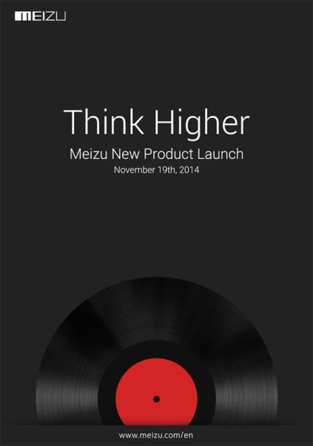 Meizu разослала приглашения на презентацию MX4 Pro 19 ноября