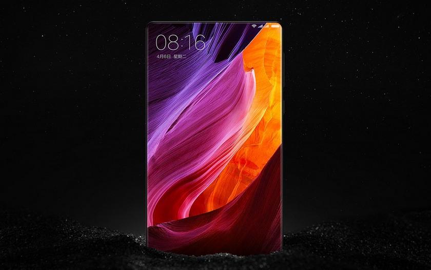 Xiaomi выпустила безрамочный смартфон Mi MIX в керамическом корпусе-3