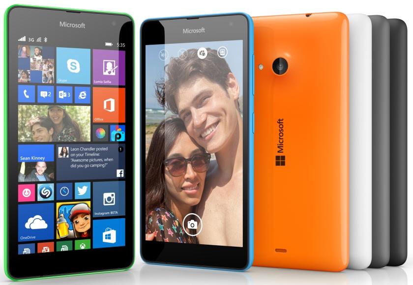 Первый смартфон под брендом Microsoft, Lumia 535 в Украине