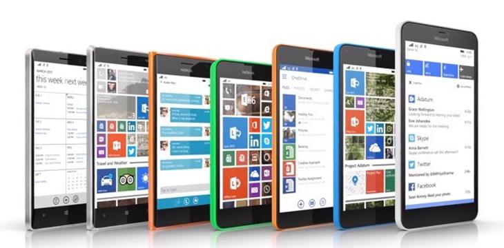 Технические характеристики трех Windows-смартфонов Microsoft Lumia 550, 750 и 850