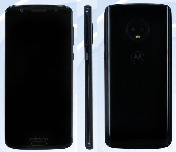 Фото ихарактеристики Motorola Moto G6— Утечка