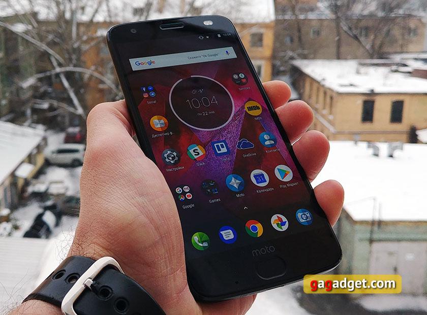Обзор Moto Z2 Force: флагманский смартфон с небьющимся экраном-2