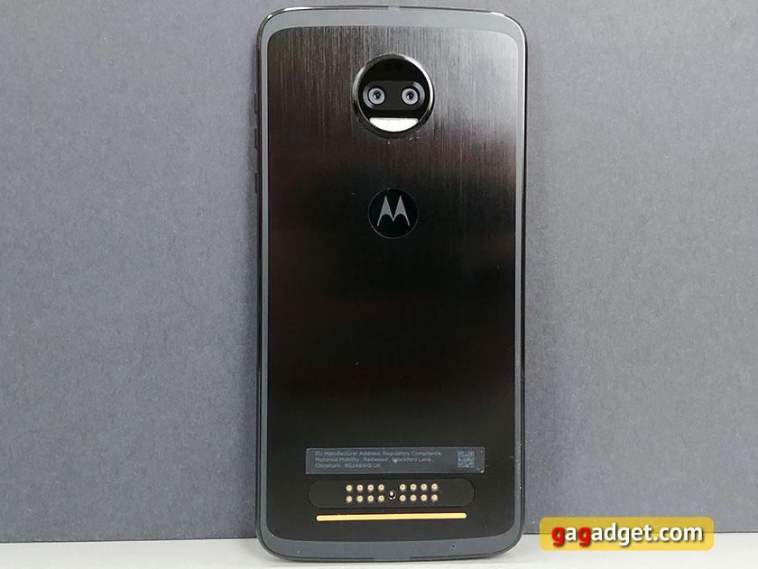 Обзор Moto Z2 Force: флагманский смартфон с небьющимся экраном-13