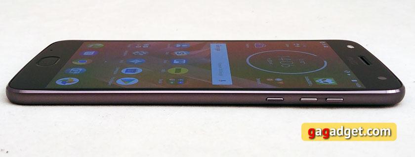 Обзор Moto Z2 Force: флагманский смартфон с небьющимся экраном-23