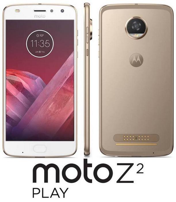 ВСеть попали первые изображения телефона Moto Z2 Play