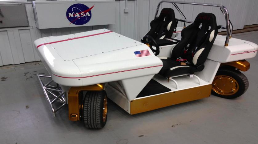 NASA демонстрирует собственный автономный автомобиль Modular Robotic Vehicle