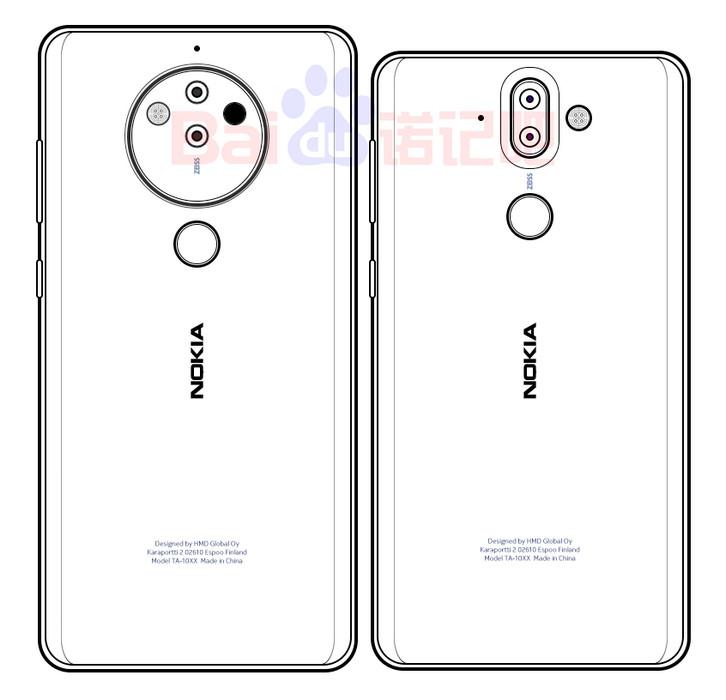 Оптика решает все: эскиз Nokia 10 с камерой на 5 объективов