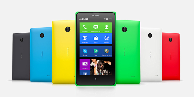 Nokia X: P · P ° C ‡ R?R? ; Microsoft R?S?R ¶ Just Installed Android?