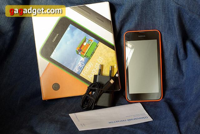 Обзор смартфона Nokia Lumia 530-3