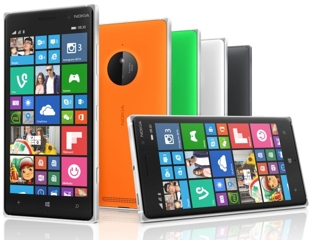 Windows Phone смартфоны Nokia Lumia 830 и Lumia 730 в Украине