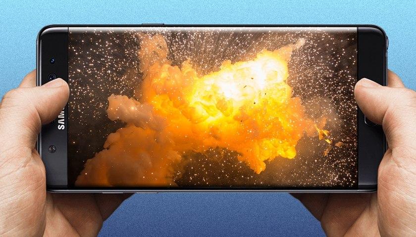 Что случилось с Samsung Galaxy Note 7 и почему он горит