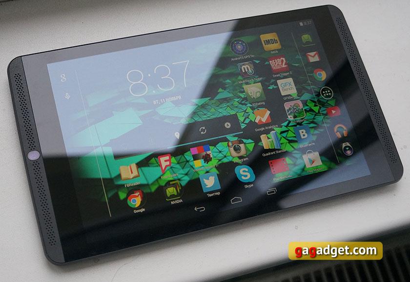 Обзор игрового планшета Nvidia Shield Tablet