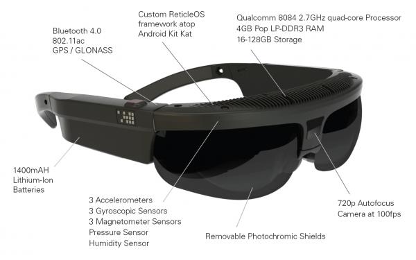 Полностью автономные «умные» очки ODG R-7 с мощной начинкой-2