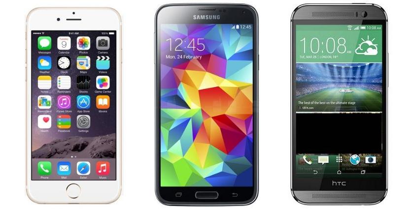 Рейтинг популярности флагманских смартфонов 2014 года по данным OLX.ua